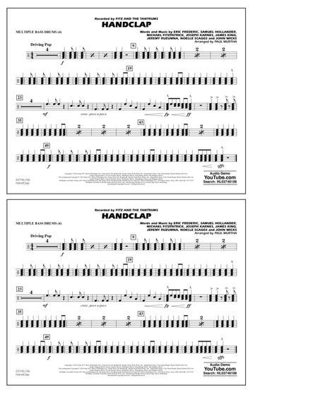HandClap - Multiple Bass Drums