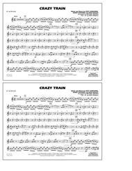 Crazy Train - Eb Alto Sax