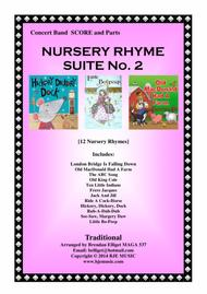 Nursery Rhyme Suite No. 2 - Concert Band Score and parts