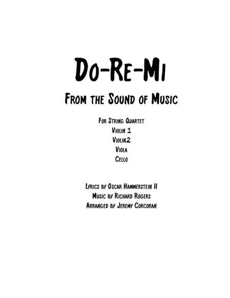 Do-Re-Mi for String Quartet