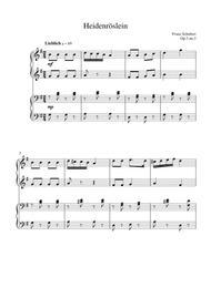 Heidenröslein (op.3 no.3)