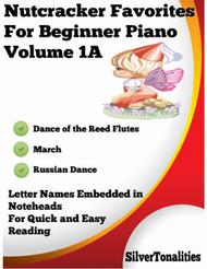 Nutcracker Favorites for Beginner Piano Volume 1 A Sheet Music