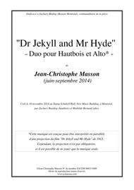 Dr Jekyll and Mr Hyde --- for Oboe and viola --- JCM 2014