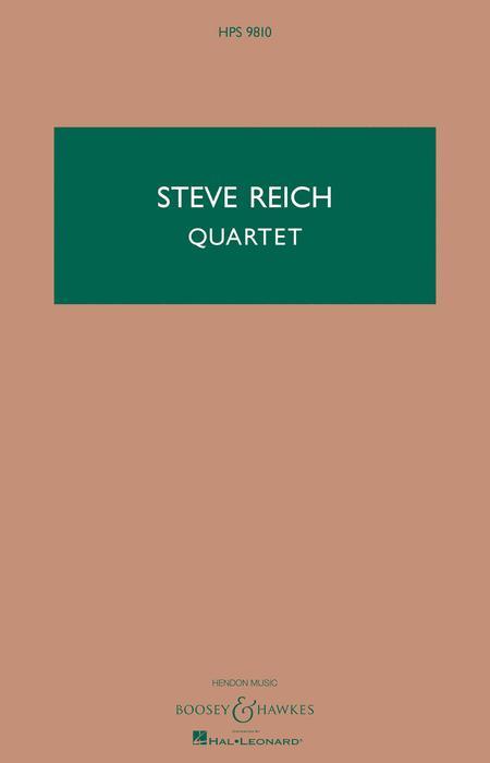 Quartet for 2 Vibraphones and 2 Pianos