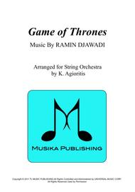 Game Of Thrones - for String Orchestra