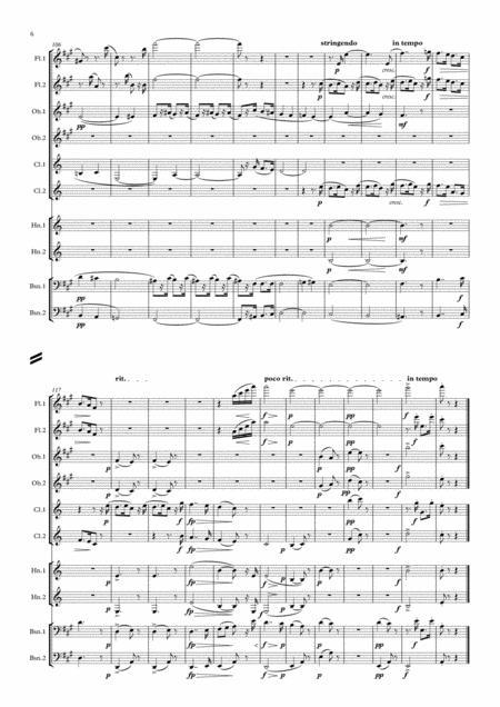 dvorak: legends op.59 mvt.7 in a - wind dectet by antonin dvorak  (1841-1904) - digital sheet music for score,set of parts - download & print  s0.213673   sheet music plus  sheet music plus