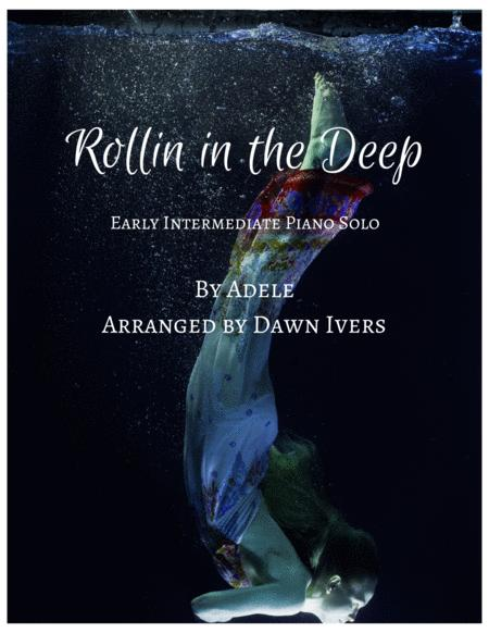 Rolling In The Deep - easy piano solo