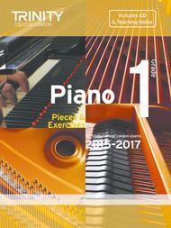 Piano Exam Pieces & Exercises 2015–2017: Grade 1 (book, CD & teaching notes)