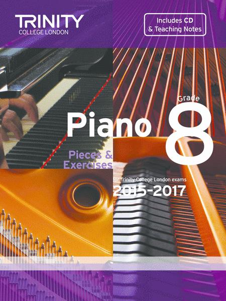 Trinity Piano 2018-2020 Grade 8 Book CD Pieces /& Exercises Music Exam Learn