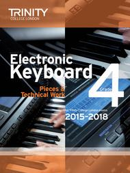 Electronic Keyboard Pieces & Technical Work 2015–2018: Grade 4