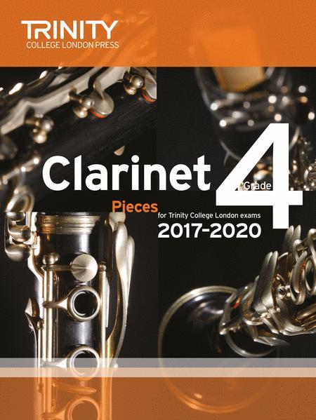 Clarinet Exam Pieces 2017–2020: Grade 4 (score & part)