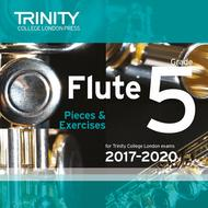 Flute Exam Pieces 2017–2020 CD: Grade 5