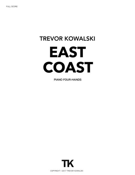 EAST COAST (piano duet)