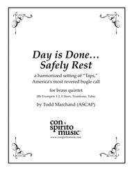 Taps — American bugle call, harmonized/arr. for brass quintet