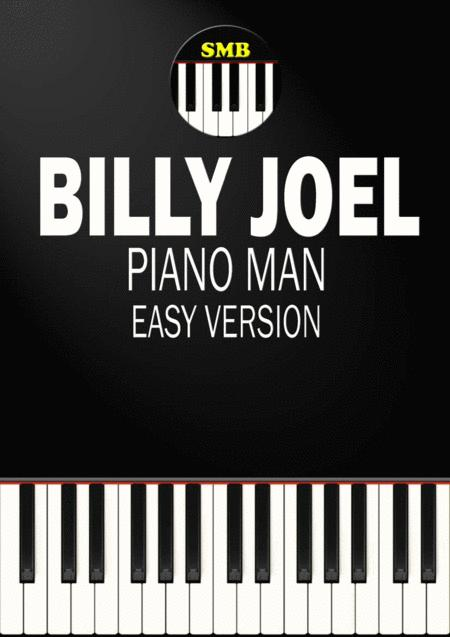 Piano Man (Easy Piano)