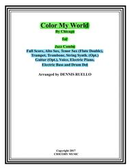 Colour My World - Chicago - Jazz Combo with Vocal