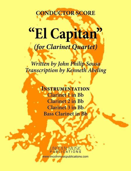 March - El Capitan (for Clarinet Quartet)