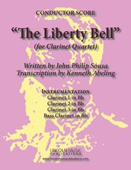 March - The Liberty Bell (for Clarinet Quartet)