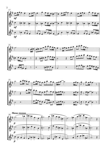 Thanksgiving Fanfare (saxophone trio) - Download Sheet