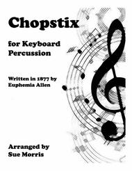 Chopstix for Keyboard Percussion