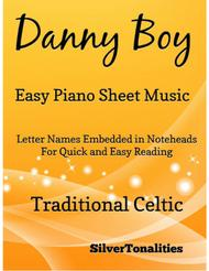 Danny Boy Easy Piano Sheet Music