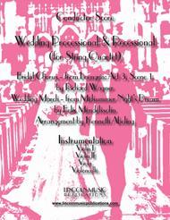 Wedding Processional & Recessional (for String Quartet)