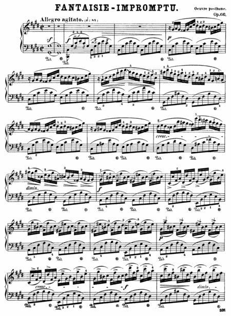 Chopin-Fantasy Impromptu, Op.66