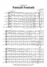 Funiculi Funicula - Italian Evergreen - Saxophone Trio