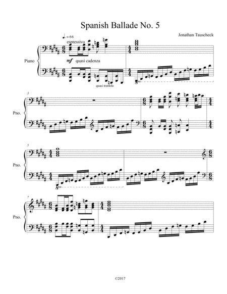 Spanish Ballade No. 5