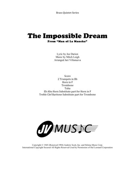 The Impossible Dream for Brass Quintet