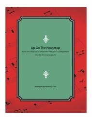 Up on the Housetop - piano solo, vocal solo or unison choir with piano accompaniment