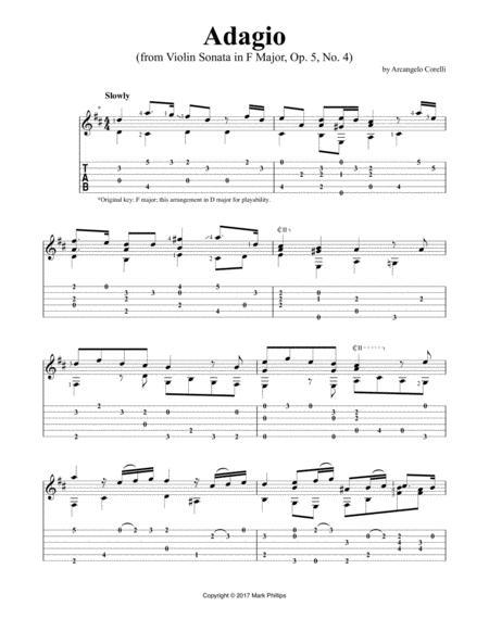Adagio (from Violin Sonata in F Major, Op. 5, No. 4)