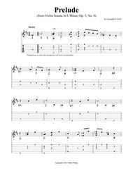 Prelude (from Violin Sonata in E Minor, Op. 5, No. 8)