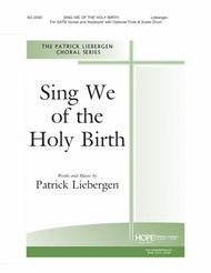 Sing We of the Holy Birth