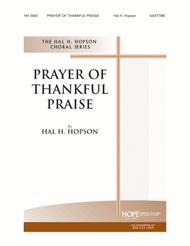 Prayer of Thankful Praise