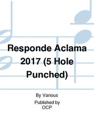 Responde Aclama 2017 (5 Hole Punched)