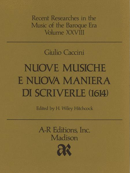 Nuove musiche e nuova maniera di scriverle (1614)