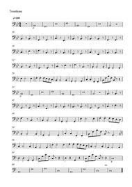 Moonlight in The Lotus Pool(Trombone Part)