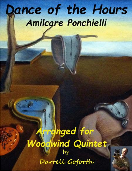 Dance of the Hours for Woodwind Quintet