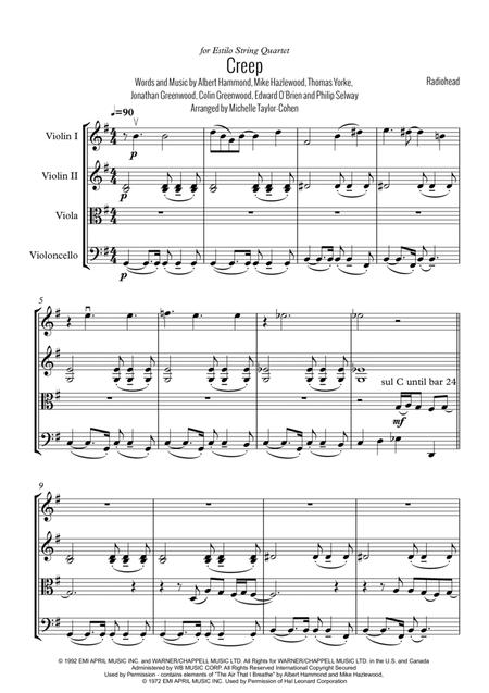 Creep (String Quartet)