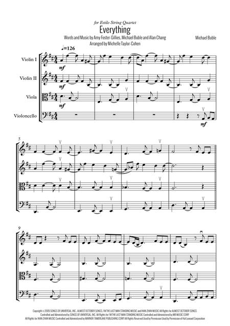 Everything (String Quartet)