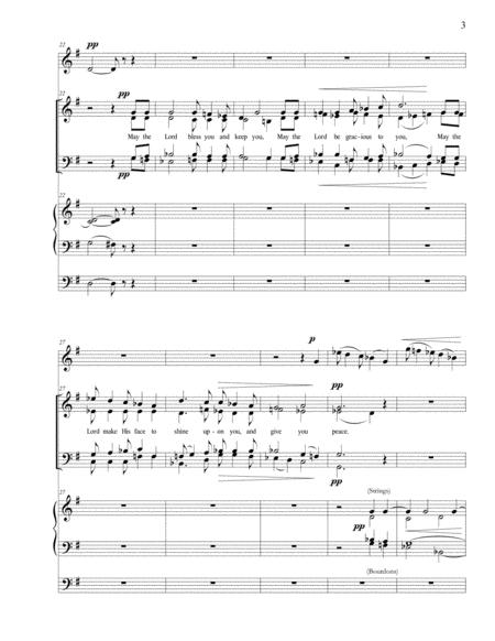 May The Lord Bless You And Keep You By Daniel James Ficarri Digital Sheet Music For Organ Violin Satb Download Print S0 217389 From Daniel Ficarri Organist And Composer Self Published At Sheet Music