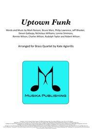 Uptown Funk - for Brass Quartet