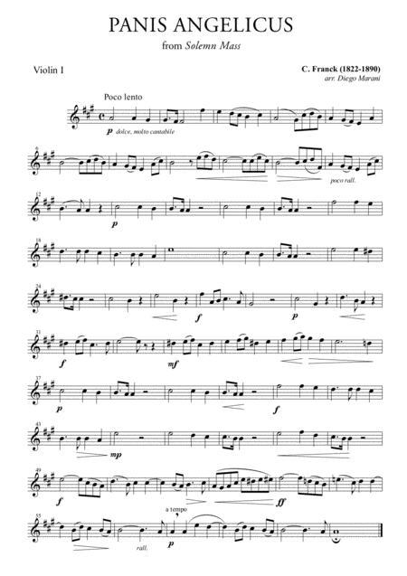 Panis Angelicus fro String Quartet