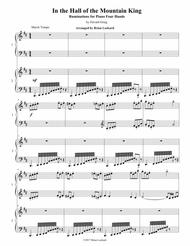 In the Hall of the Mountain King Variations for Piano Four Hands