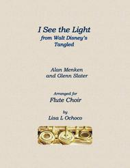 I See The Light from Tangled for Flute Choir