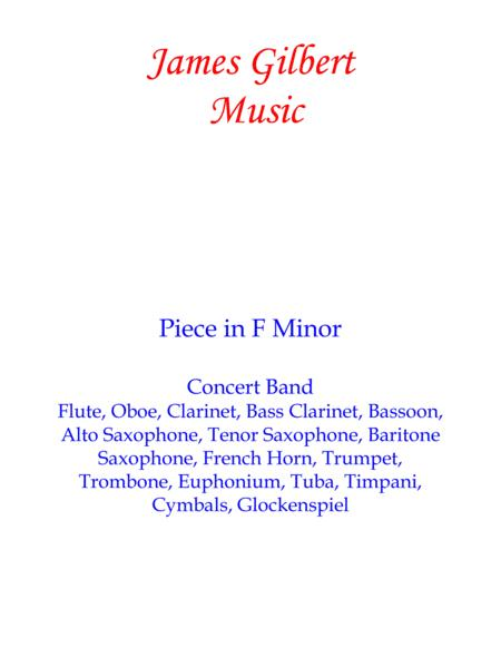 Piece in F Minor