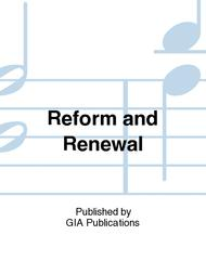 Reform And Renewal Sheet Music By Tim Ruffer - Sheet Music Plus