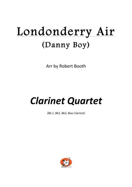 Londonderry Air (Danny Boy) - Clarinet Quartet