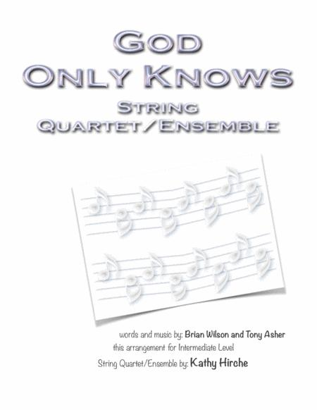 God Only Knows - String Quartet/Ensemble